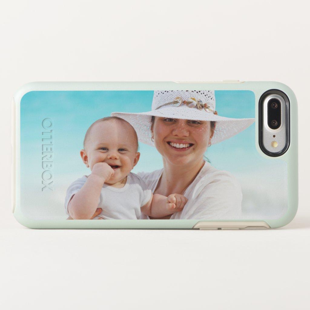 Custom Horizontal Photo Template OtterBox Symmetry iPhone 8 Plus/7 Plus Case