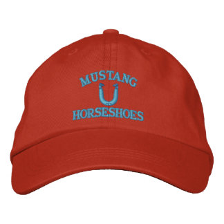 Custom HorseShoe Pitching Cap Embroidered Hat