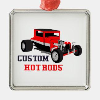Custom Hot Rods Metal Ornament