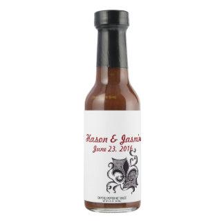 Custom Hot Sauce Bottle