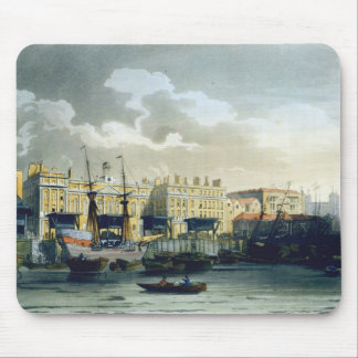 Custom House from the River Thames, from Ackermann Mouse Pad