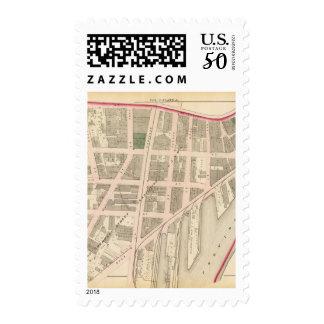 Custom House Narragansett Hotel Company Atlas Map Postage