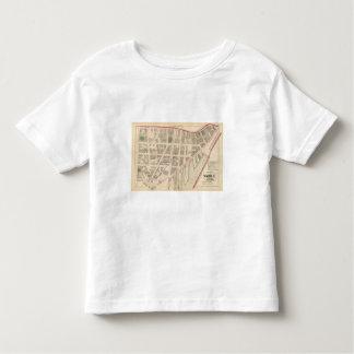 Custom House Narragansett Hotel Company Atlas Map Toddler T-shirt