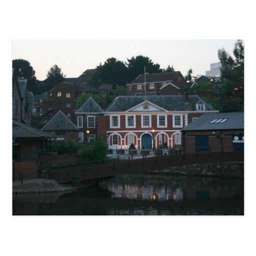 Custom House, The Quay, Exeter, Devon, UK Postcard