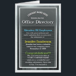 """Custom Huge Retirement Card Office Directory<br><div class=""""desc"""">Customize this huge retirement card to make a gift they will love. The artwork can be personalized with your own message.</div>"""