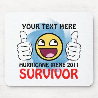 Custom Hurricane Irene 2011 Survivor Mouse Pad