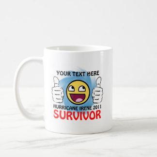 Custom Hurricane Irene 2011 Survivor Coffee Mugs