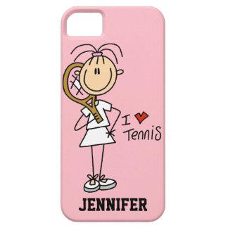 Custom I Heart Tennis iPhone 5 Case