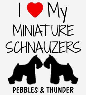 a29f9abc Miniature Schnauzer T-Shirts - T-Shirt Design & Printing   Zazzle