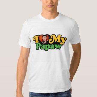 Custom I Love My Papaw Shirt