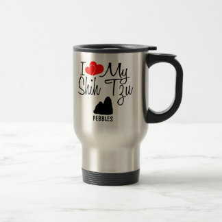 Custom I Love My Shih Tzu Mug