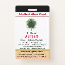 Custom ID Identification Child Adult Name Badge