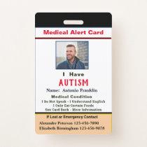 Custom ID Identification Child Adult Photo Name Badge
