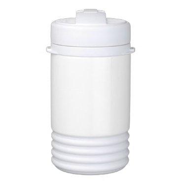 Beach Themed Custom Igloo Beverage Cooler - One Quart