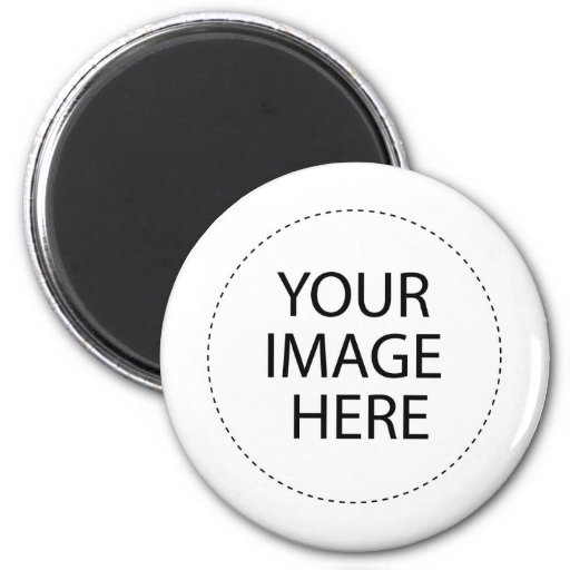Custom Image Template 2 Inch Round Magnet