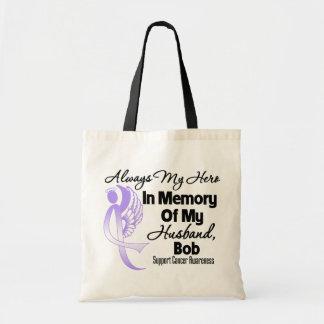 Custom In Memory General Cancer Awareness Budget Tote Bag