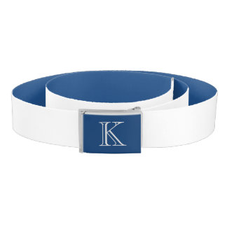 Custom Initial Casual Belt