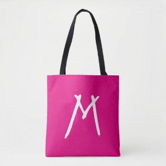 Custom Initial | Contours Tote Bag
