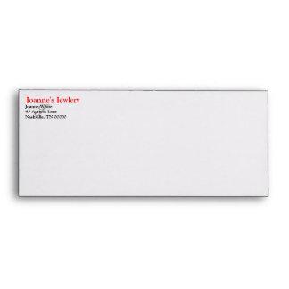 Custom Initial Envelopes