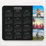 "Custom Instagram Photo Collage 2020 Calendar Mouse Pad<br><div class=""desc"">Create your own personalized 2020 calendar mouse pad with your custom images. Add your favorite photos, designs or artworks to create something really unique. To edit this design template, simply upload your own images as shown above. You can even add text, customize fonts and colors. Treat yourself or make the...</div>"