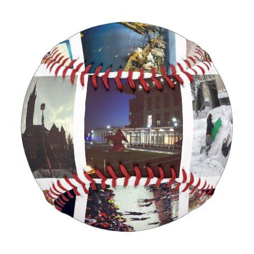 Custom Instagram Photo Collage Baseball