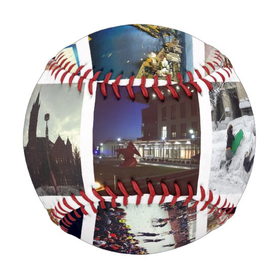 Custom Instagram Photo Collage Baseball