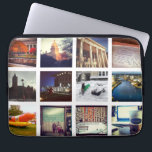 "Custom Instagram Photo Collage Laptop Sleeve<br><div class=""desc"">Custom Instagram Photo Collage Neoprene Laptop Sleeve. Protect your laptop with a custom laptop sleeve. Made with 100% neoprene, these lightweight and water resistant sleeves look great with your photos, text, or designs. Great for travel or just day-to-day use, custom laptop sleeves come in three sizes to fit your device...</div>"