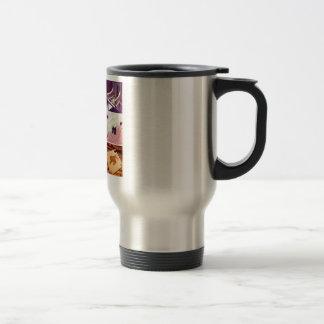 Custom Instagram Photo Collage Travel Commuter Mug