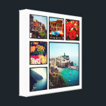 "Custom Instagram Photo Collage Wrapped Canvas Art<br><div class=""desc"">Add six of your favorite Instagram photos to create a beautiful unique photo collage wrapped canvas print. Click Customize It to move photos and personalized with your own text to create a unique one of a kind design. Great gift for family and friends!</div>"