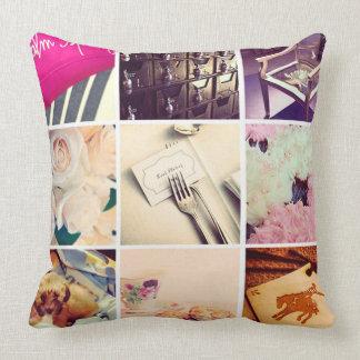 Custom Instagram Throw Pillow