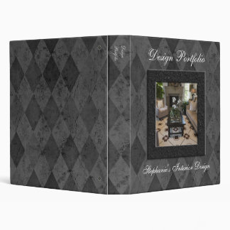 Custom Interior Design or Fashion Portfolio Binder