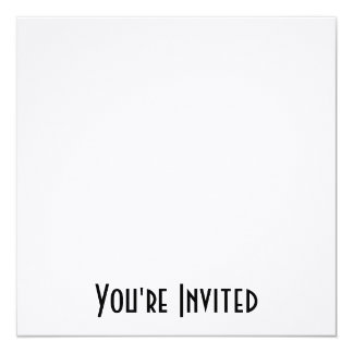 Custom Invites - Design Your Own Custom