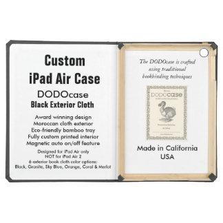 Custom iPad Air Case - DODOcase Folio - Black