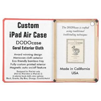 Custom iPad Air Case - DODOcase Folio - Coral