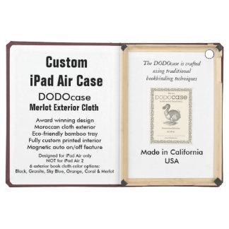 Custom iPad Air Case - DODOcase Folio - Merlot