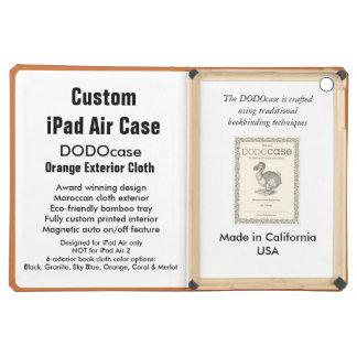 Custom iPad Air Case - DODOcase Folio - Orange