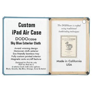 Custom iPad Air Case - DODOcase Folio - Sky Blue