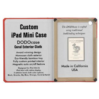 Custom iPad Mini Case - DODOcase Folio - Coral