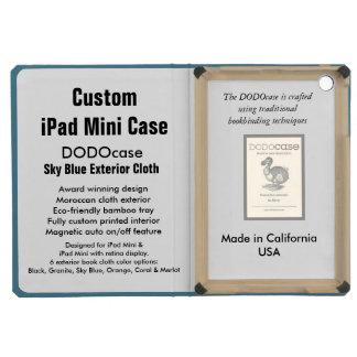 Custom iPad Mini Case - DODOcase Folio - Sky Blue