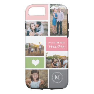 Custom iPhone 4 Mother's Day Photo Collage iPhone 8/7 Case