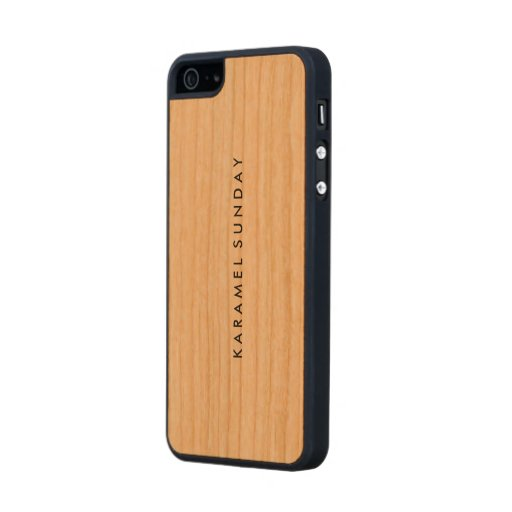 customize iphone 5s case custom iphone 5 5s slim wood zazzle 9947
