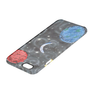 custom iPhone 6/6 clearly deflected case w/abstrac