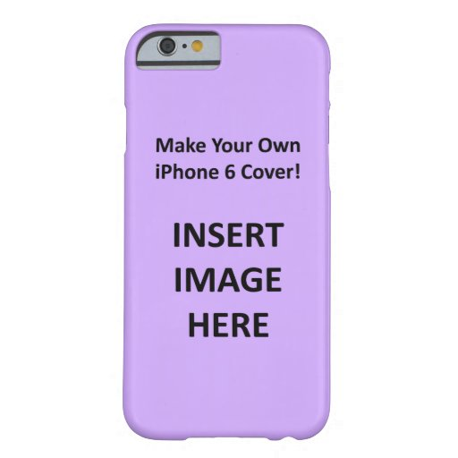 Custom Iphone 6 Case Template To Create Your Own Zazzle