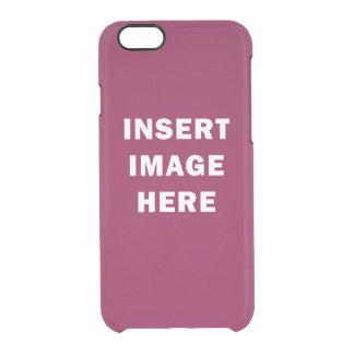 Custom iPhone 6 Translucent Case Template DIY