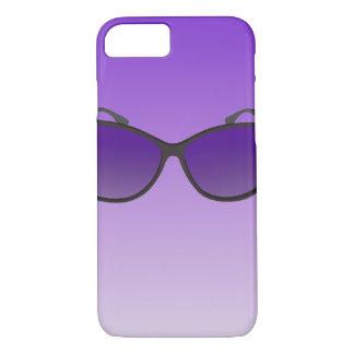 Custom iPhone 7 Cases - Purple Sunglasses