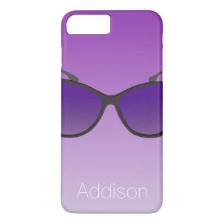Custom iPhone 7 Cases Purple Sunglasses
