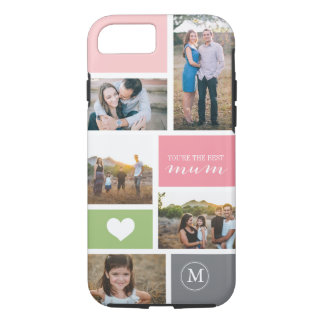 Custom iPhone 7 Mother's Day Photo Collage iPhone 7 Case