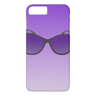 Custom iPhone 7 Plus Cases - Purple Sunglasses