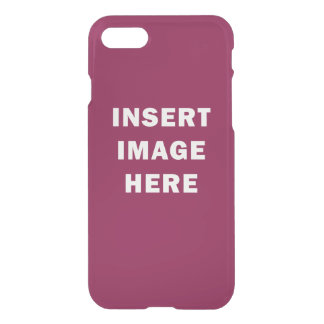 Custom iPhone 7 Translucent Case Template DIY