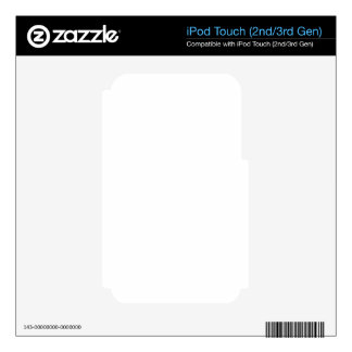 Custom iPod Touch 2 Skin Decal For iPod Touch 2G